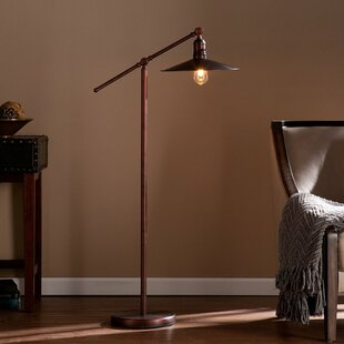 Task floor lamps youll love wayfair schyler retro 51 led task floor lamp mozeypictures Image collections