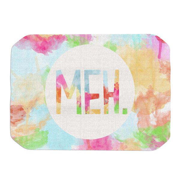Meh Placemat by KESS InHouse