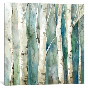 River Birch II Graphic Art on Wrapped Canvas by Loon Peak
