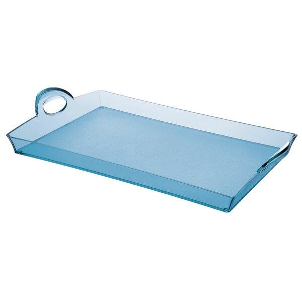 Happy Hour Acrylic Rectangular Serving Tray by Guzzini