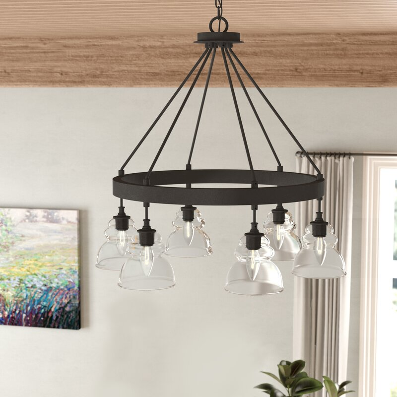 Laurel Foundry Modern Farmhouse Arla 6-Light Shaded