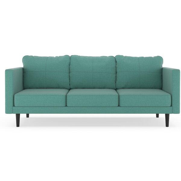 Rocio Linen Weave Sofa by Brayden Studio