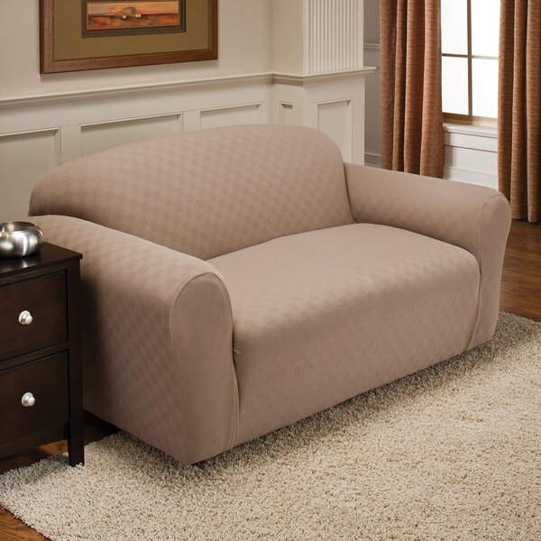 Baltimore-Washington Box Cushion Sofa Slipcover by Red Barrel Studio