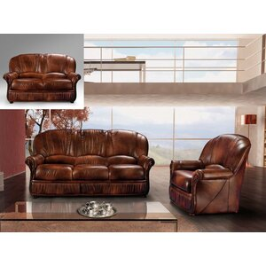 Brown 2 Piece Living Room Set by Noci Design