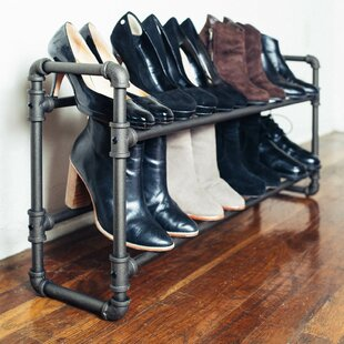 Great choice 2 Tier Shoe Rack By Williston Forge