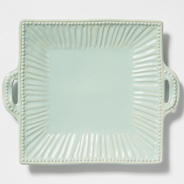Incanto Stripe Square Platter by VIETRI