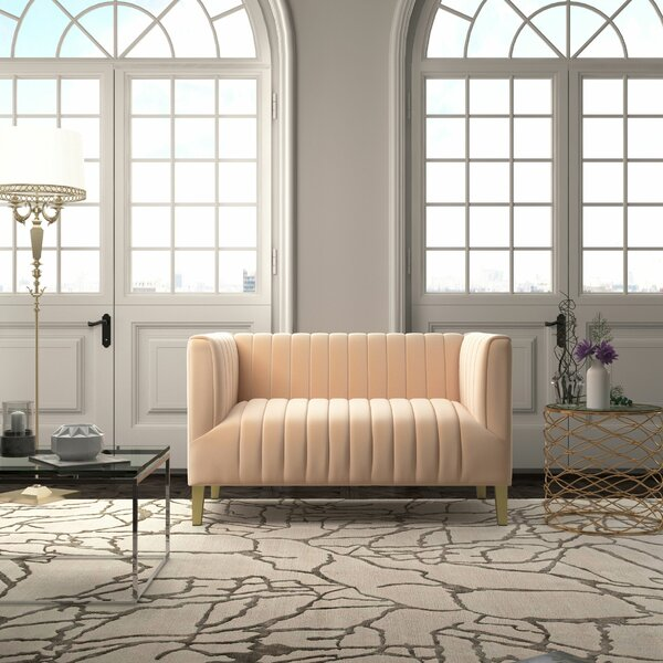 Fruitvale Standard Loveseat by Everly Quinn