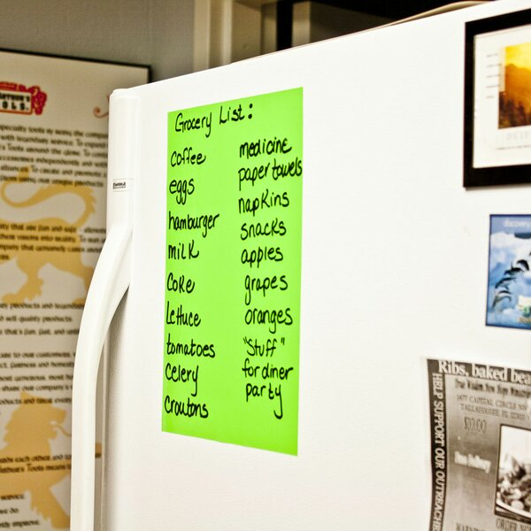 Letter Sheet Wall Mounted Whiteboard by Magic Whiteboard Products