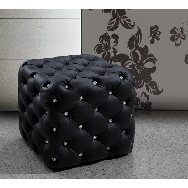Burton Latimer Cube Ottoman By Mercer41 Reviews