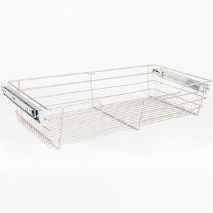 Inexpensive Closet Pullout 23W x 6H x 14D Drawer ByHardware Resources