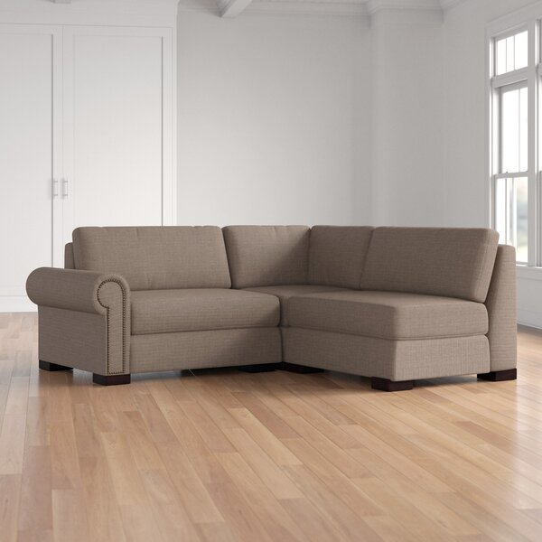 Review Willia Plush Deep Modular Sectional