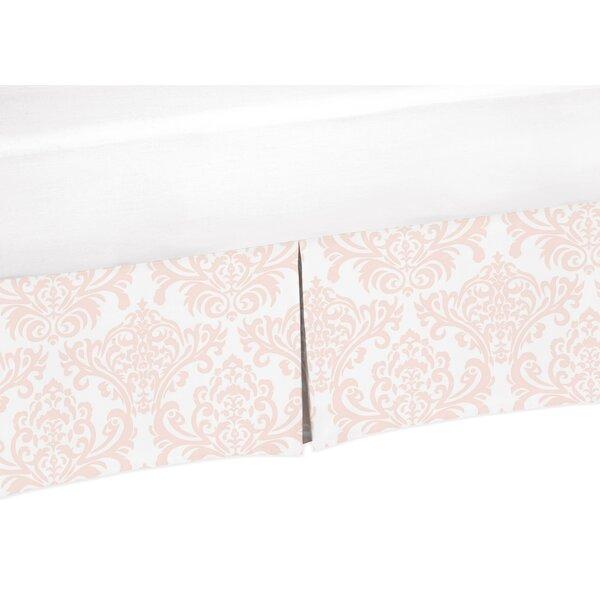 Amelia Damask Print Crib Skirt by Sweet Jojo Designs