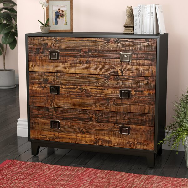Salas Wood 3 Drawer Accent Chest by Laurel Foundry Modern Farmhouse Laurel Foundry Modern Farmhouse