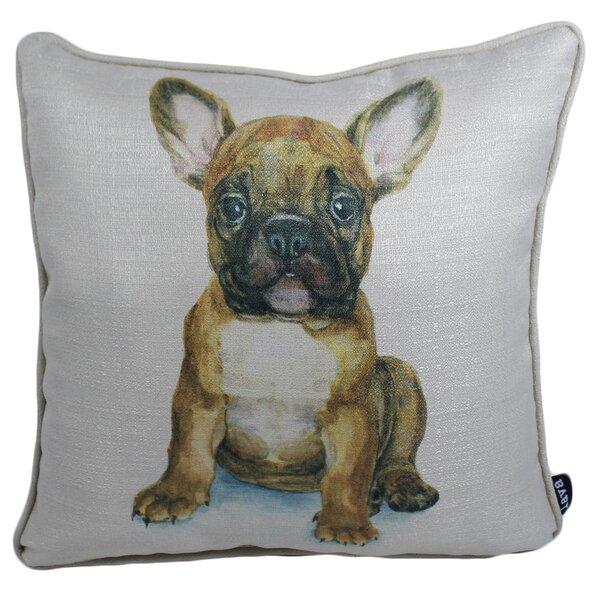 Steinbeck Bull Outdoor Throw Pillow by Latitude Run
