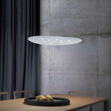 Scudo 9-Light Unique / Statement Geometric Chandelier By ZANEEN Design