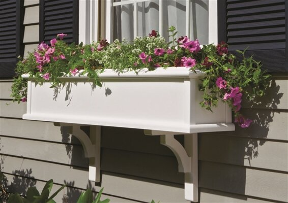 Charleston 1-Piece Window Box Planter by Good Directions