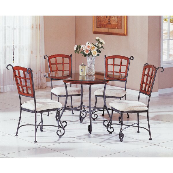Jordan 5 Piece Dining Set by Fleur De Lis Living