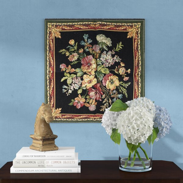 Mix Flower Motif Tapestry by Astoria Grand