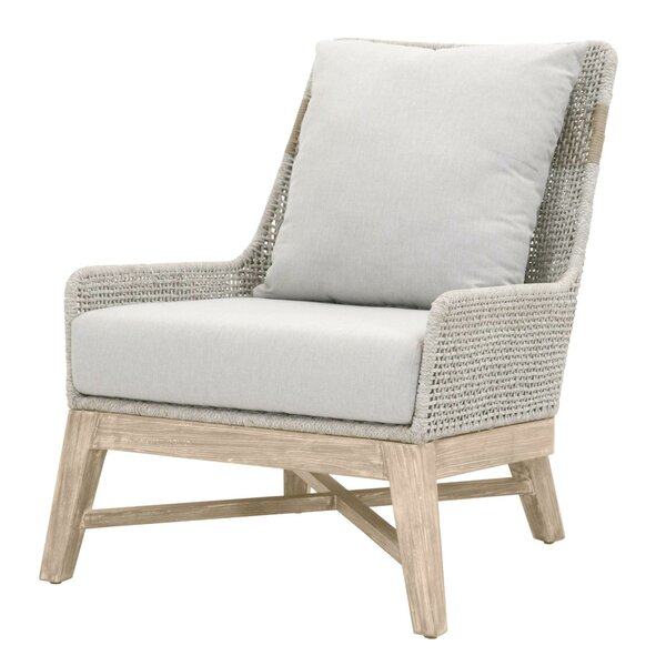 Gregg Patio Chair with Cushions by Bungalow Rose Bungalow Rose