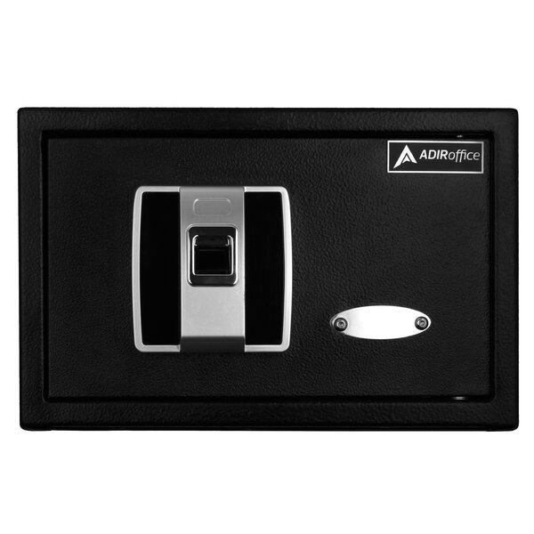 Secured Access Fingerprint Security Safe with Biometric Lock by AdirOffice