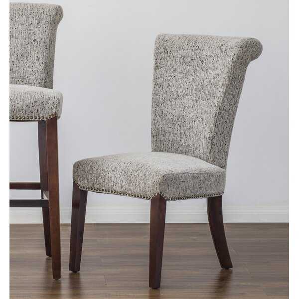 Lehner Upholstered Dining Chair (Set of 2) by Alcott Hill