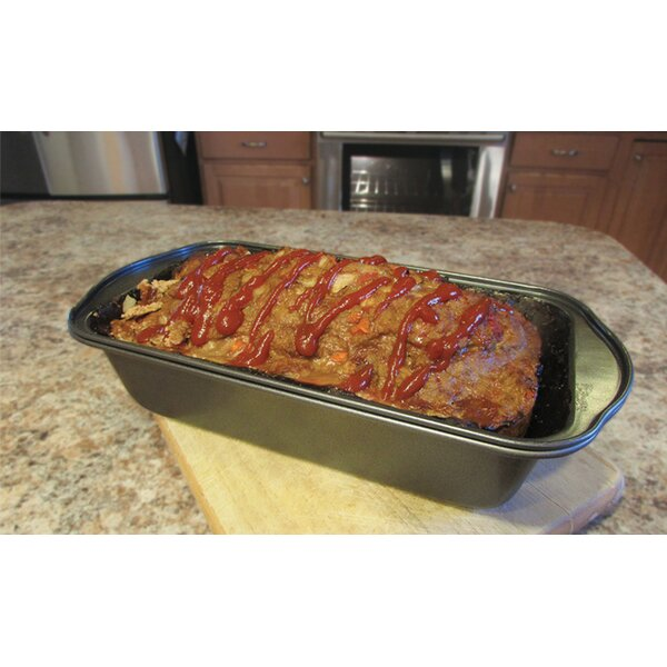 2 Piece Non-Stick Meat Loaf Pan by Eternal