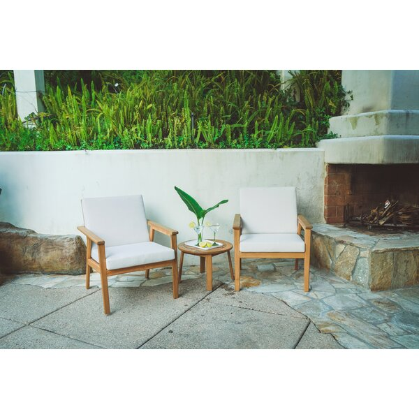 Anniston Conversation with Cushions by Rosecliff Heights