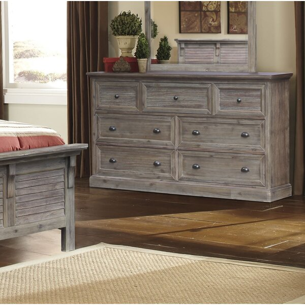 Lowenstein 7 Drawer Dresser by Rosecliff Heights