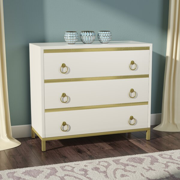Rowe 3 Drawer Bachelors Chest by Willa Arlo Interiors