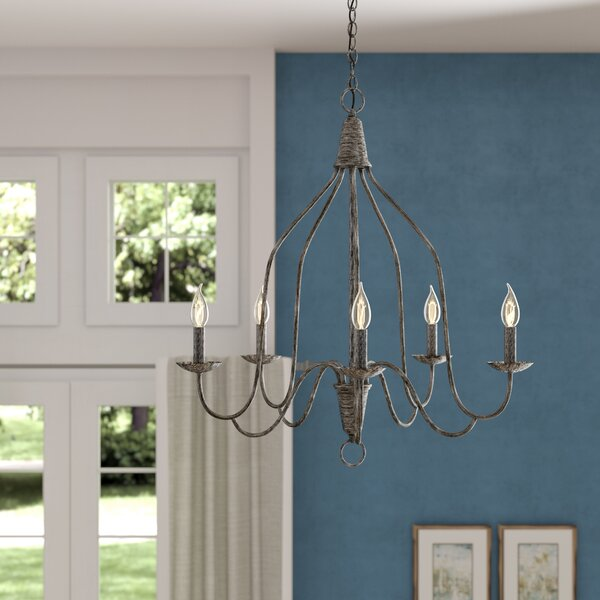 Geeta 5-Light Chandelier by Ophelia & Co.