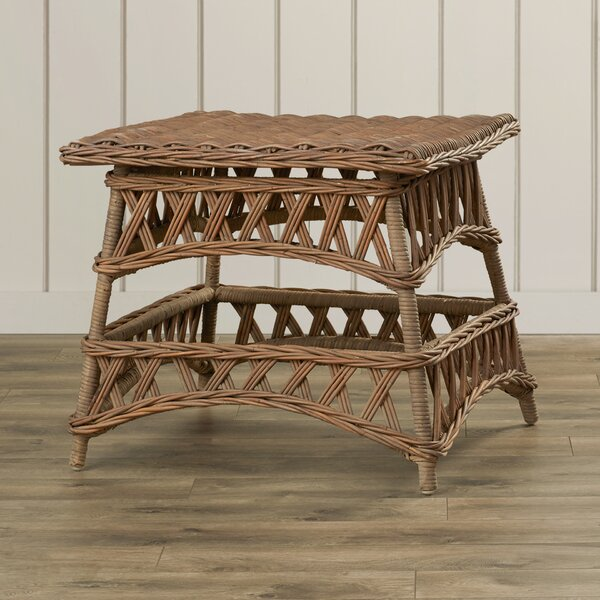 Carrington End Table by Rosecliff Heights