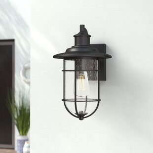 Price comparison Norgren 1-Light Outdoor Wall Lantern By Breakwater Bay