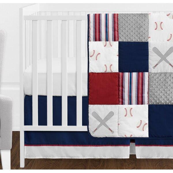 Baseball Patch 11 Piece Crib Bedding Set by Sweet Jojo Designs