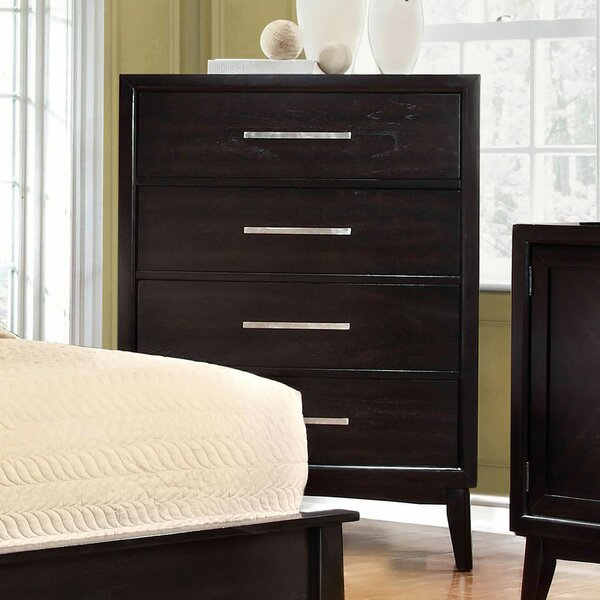 Divya 4 Drawer Chest by Wrought Studio