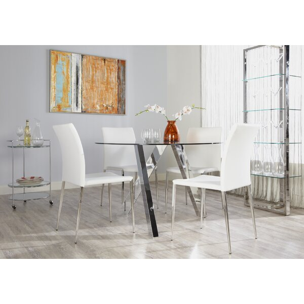Modern  Parlex 5 Piece Dining Set By Orren Ellis Top Reviews