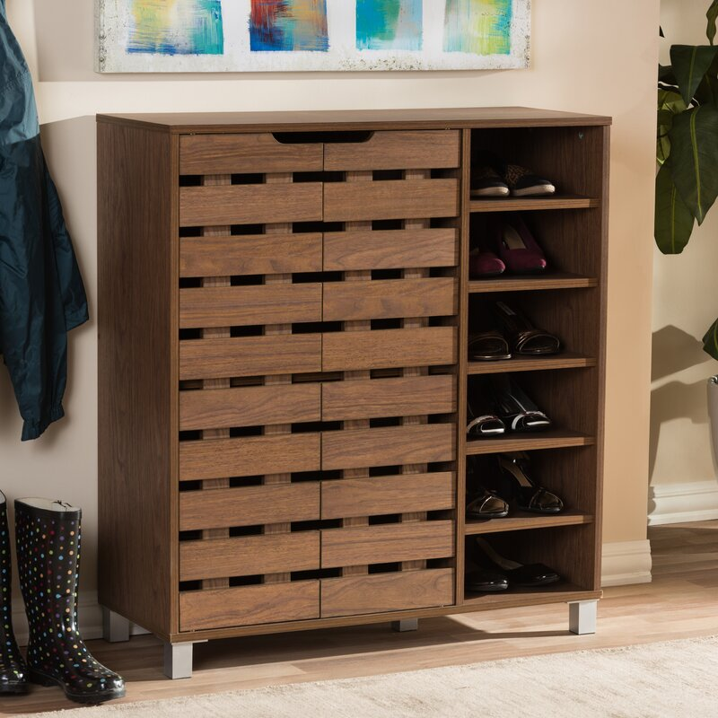 Zipcode Design 18 Pair Shoe Storage Cabinet