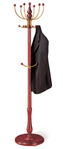 Wooden Floor Standing Tree Coat Rack by Cosmopolitan Furniture