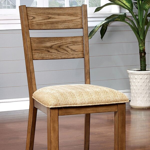 Purvis Upholstered Dining Chair (Set of 2) by August Grove