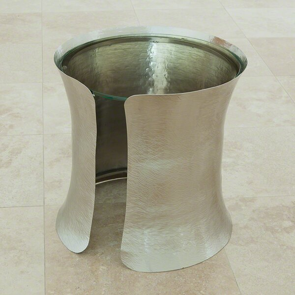 Cuff End Table by Global Views