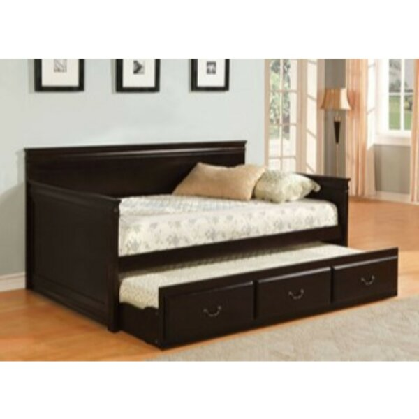 Kirkham Twin Daybed With Trundle By Alcott Hill