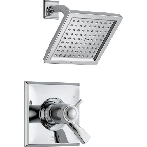 Dryden Diverter Shower Faucet with Lever Handle by