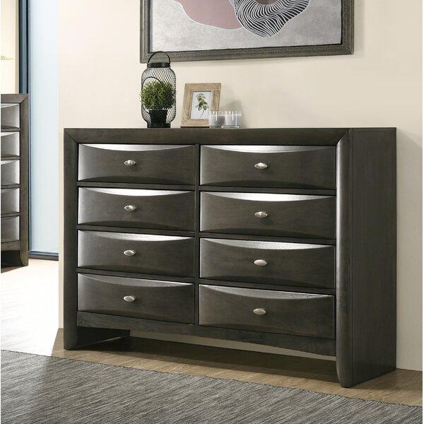 Carle 8 Drawer Dresser by Red Barrel Studio