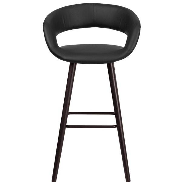 Palafox Contemporary 30 Bar Stool by Orren Ellis