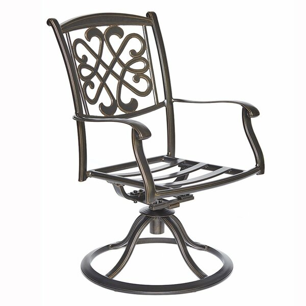 Glasgow Patio Glider Chair (Set of 2) by Fleur De Lis Living
