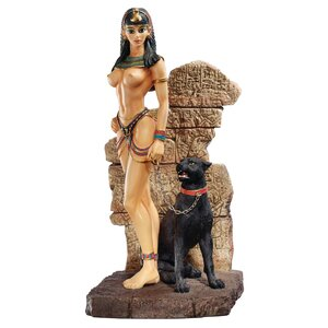 Egyptian Panther Goddess Figurine