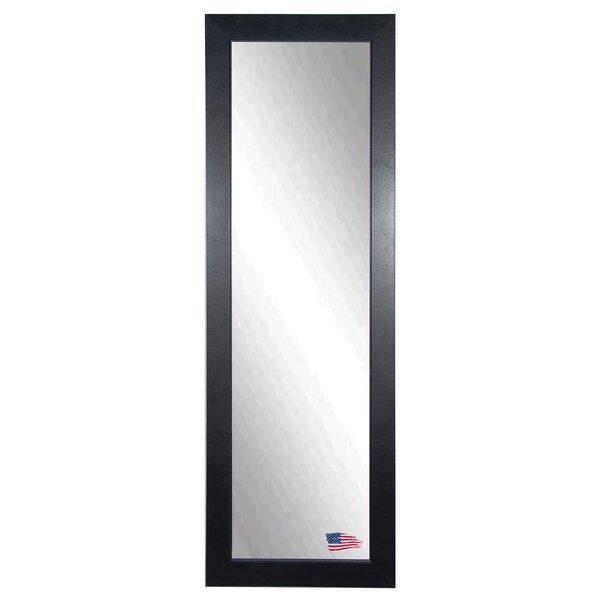 Black Superior Full Length Body Mirror by Brayden Studio