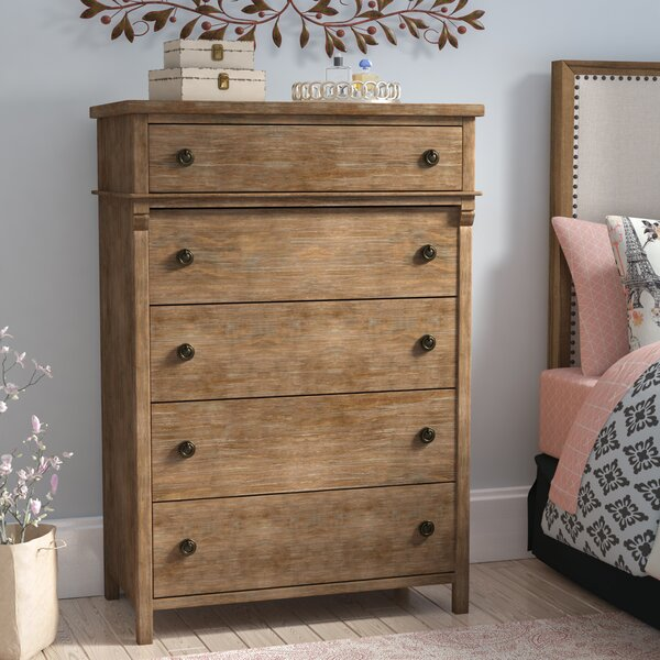 Wallingford 5 Drawer Chest by Feminine French Country