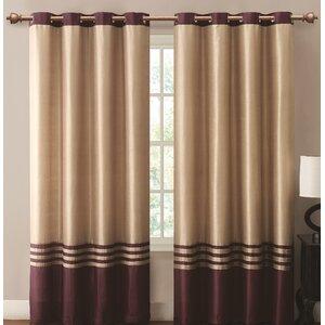 Beal Grommet Single Curtain Panel