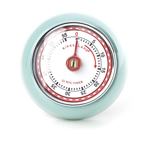 Retro Magnetic Kitchen Timer by Kikkerland