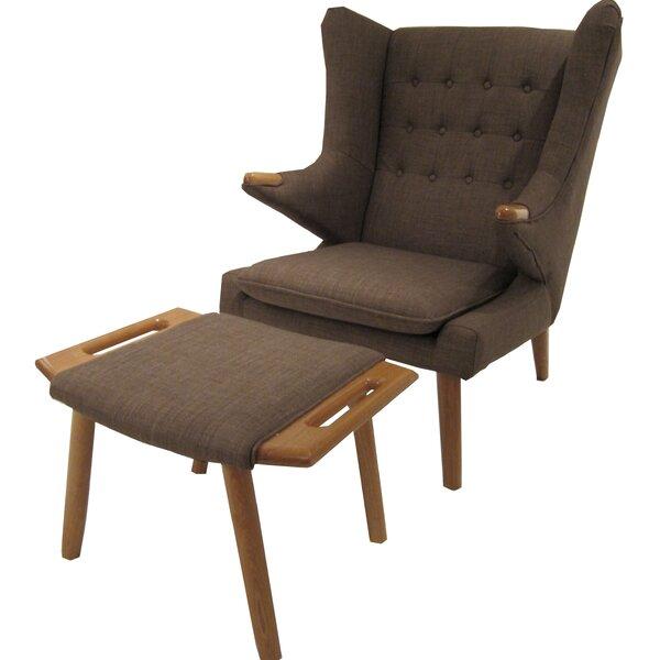 Styron Wingback Chair by Corrigan Studio